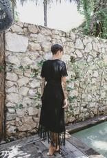 La Troupe Vestido Sandalo Black