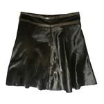 Wyld Blue Fur A-Line Skirt