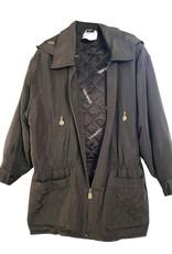 Chanel Chanel Silk Trench Coat sz 40 (Vintage)