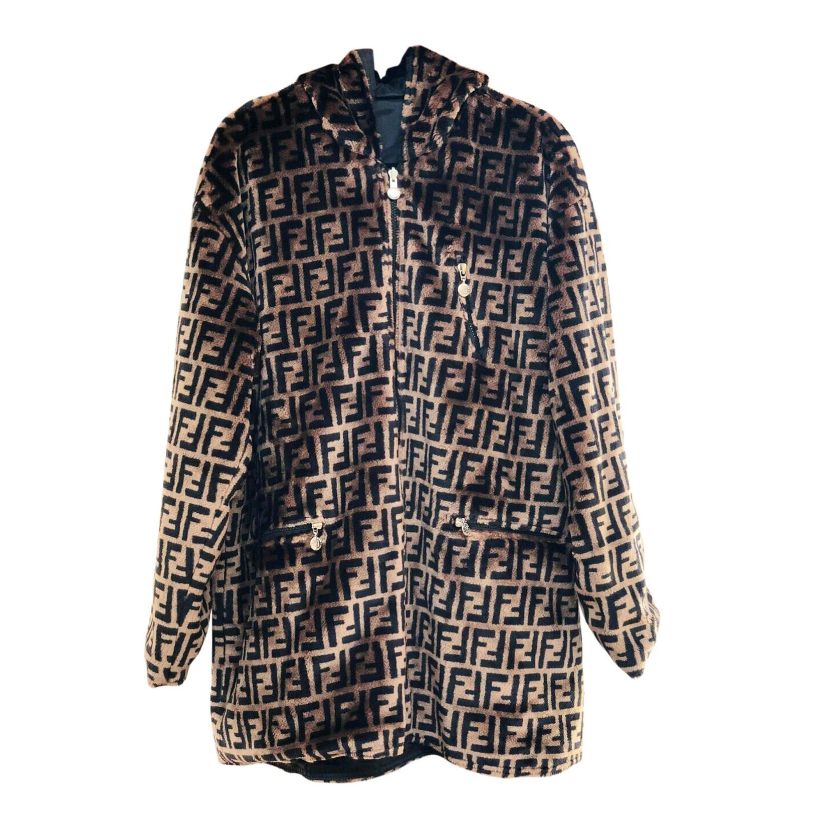 Fendi Fendi Zucca Reversible Jacket (2018 RTW)