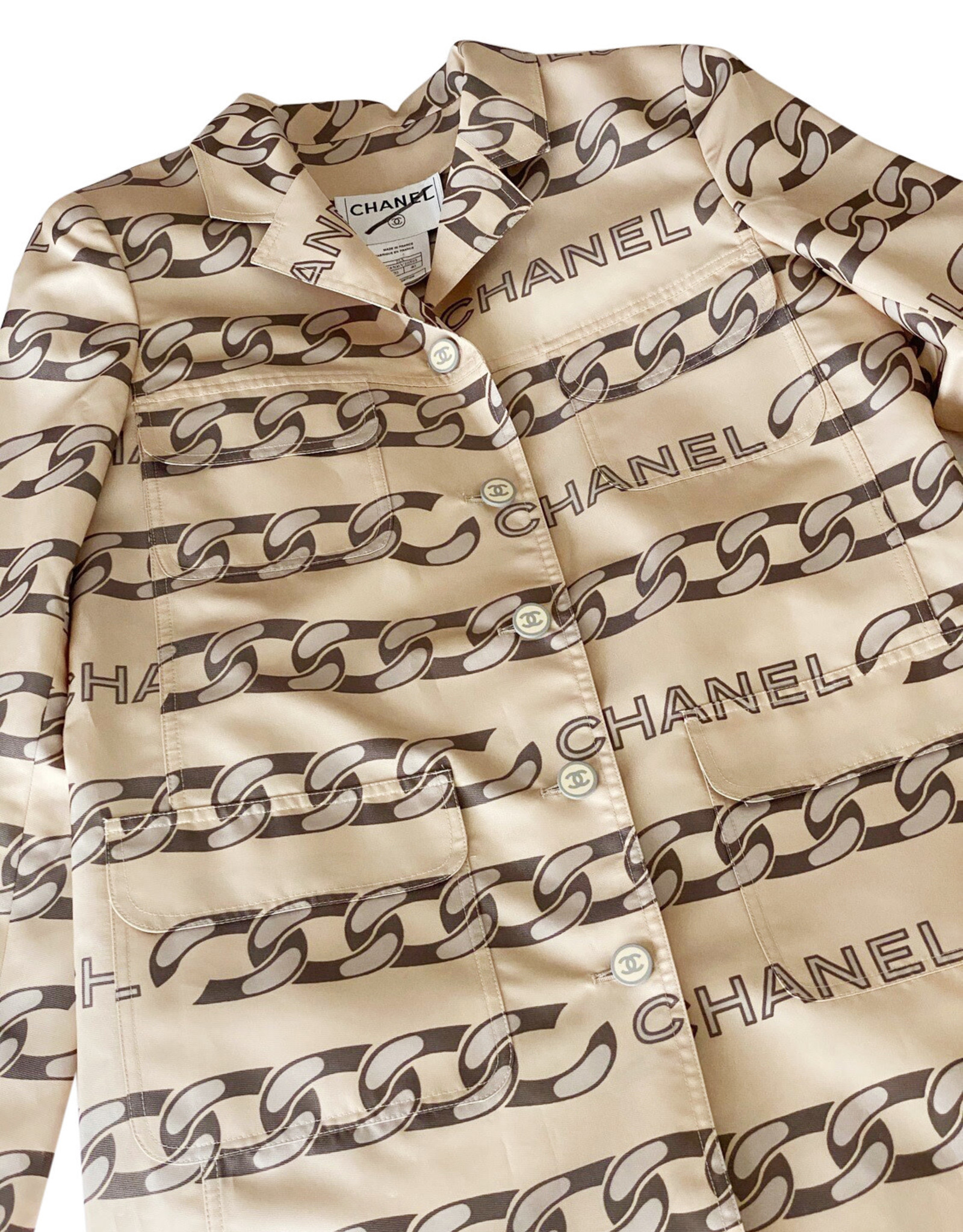 Chanel Chanel Monogram Reversible Jacket sz 36 (Vintage)