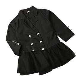 Wyld Blue Blazer Tutu Dress 2T