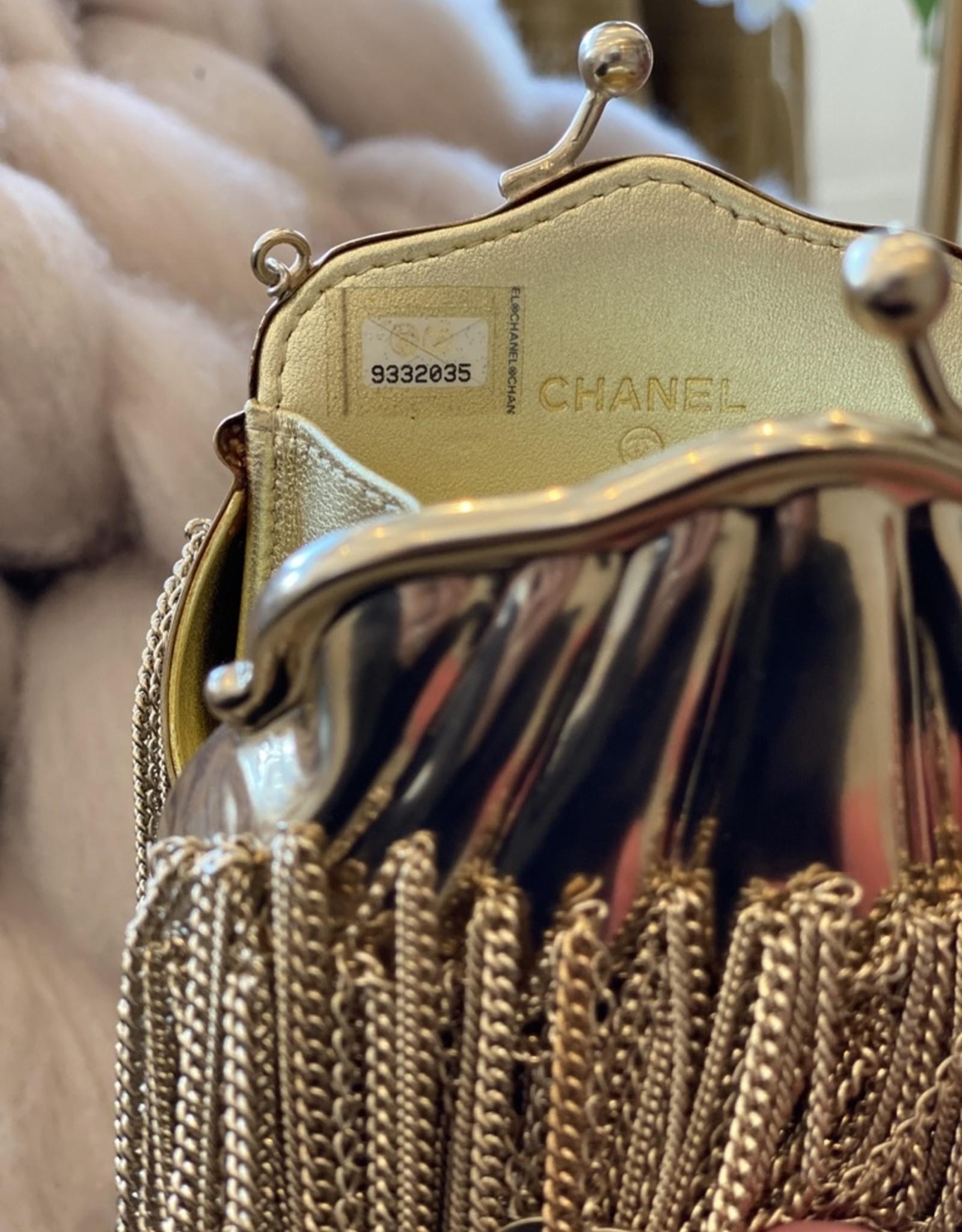 Chanel Chanel Rare Fringe Coin Purse (1990s Vintage)