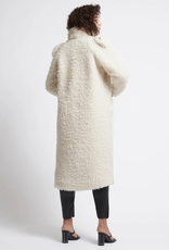 Aje Motocyclette Teddy Coat - Cream