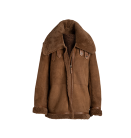 Arjé Canelle Reversible Shearling Jacket