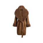 Arjé Anais Reversible Shearling Jacket - Mocha