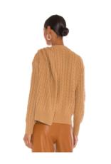 Ronny Kobo Jasper Sweater Camel