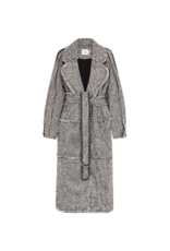 Aje Rebellion Tweed Coat