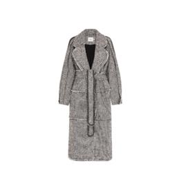 Aje Rebellion Tweed Coat