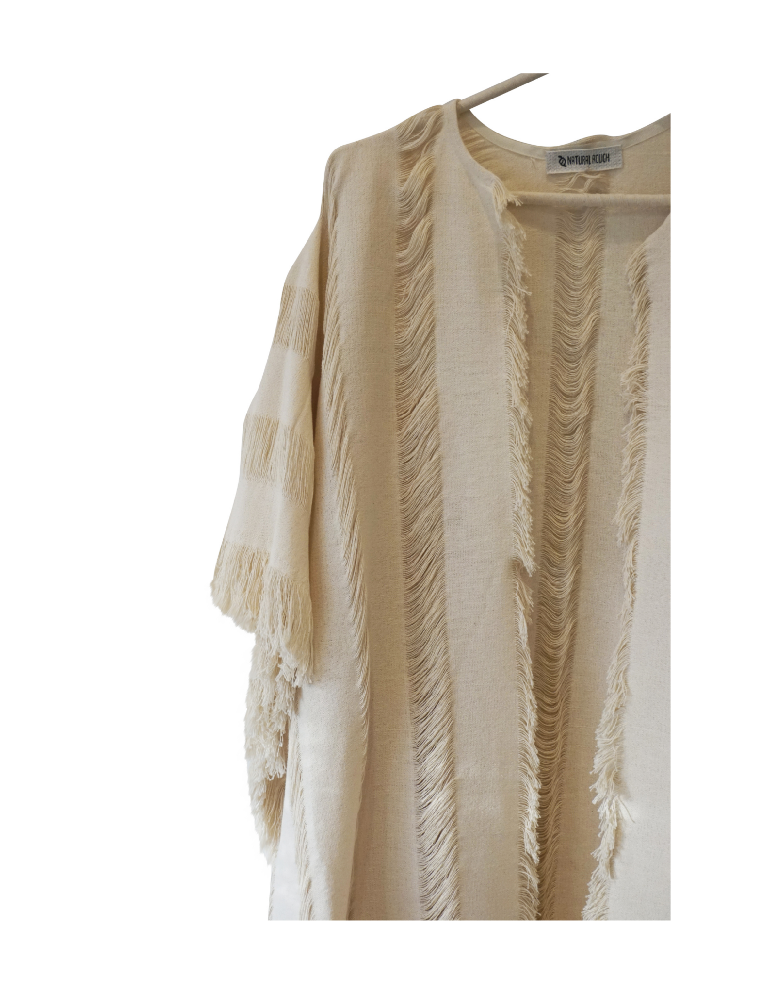 Natural Rough Elena Long Kaftan
