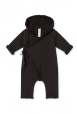 Little Creative Factory Baby Quilted Overall Black