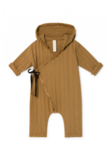 Little Creative Factory Baby Quilted Overall Camel