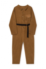 Little Creative Factory Work Overalls Dark Camel