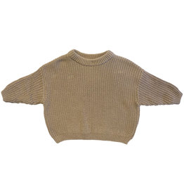 Wyld Blue Kids Simple Sweater Army