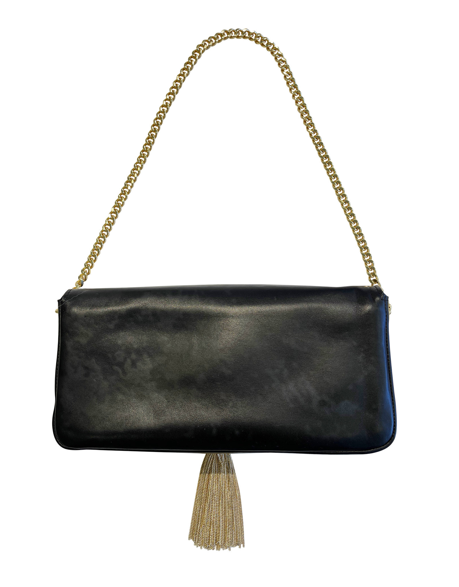 Wyld Blue Saint Laurent Tassel Bag