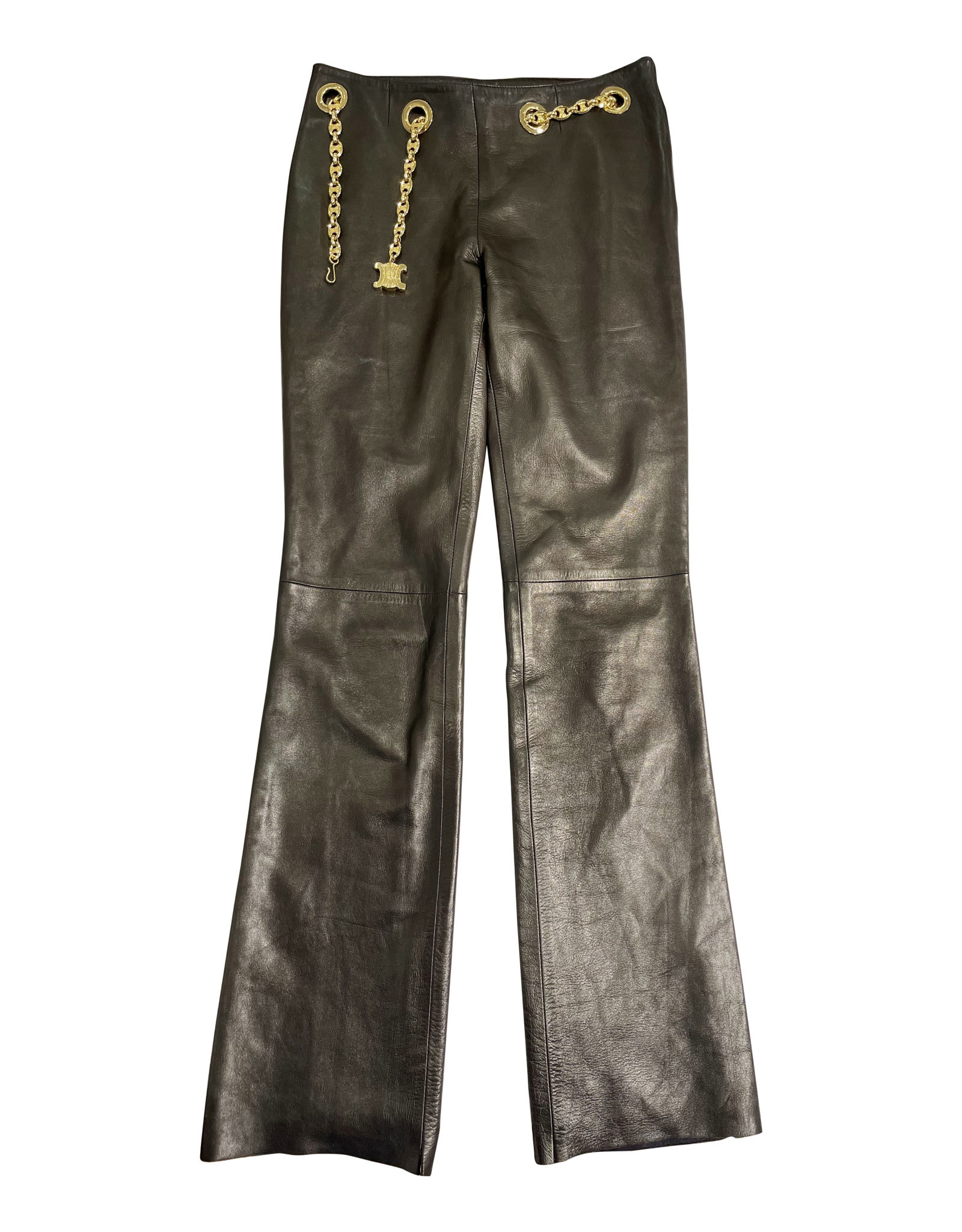 Celine Celine Leather Pants