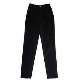 Chanel Chanel Velvet Pants