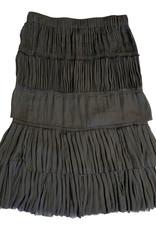 Isabel Marant Black Ruffled Skirt