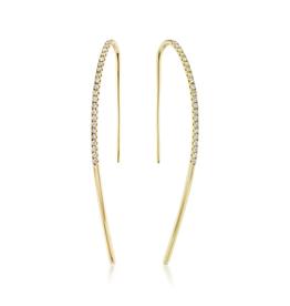 KBH Jewels Diamond Sweetheart Earrings