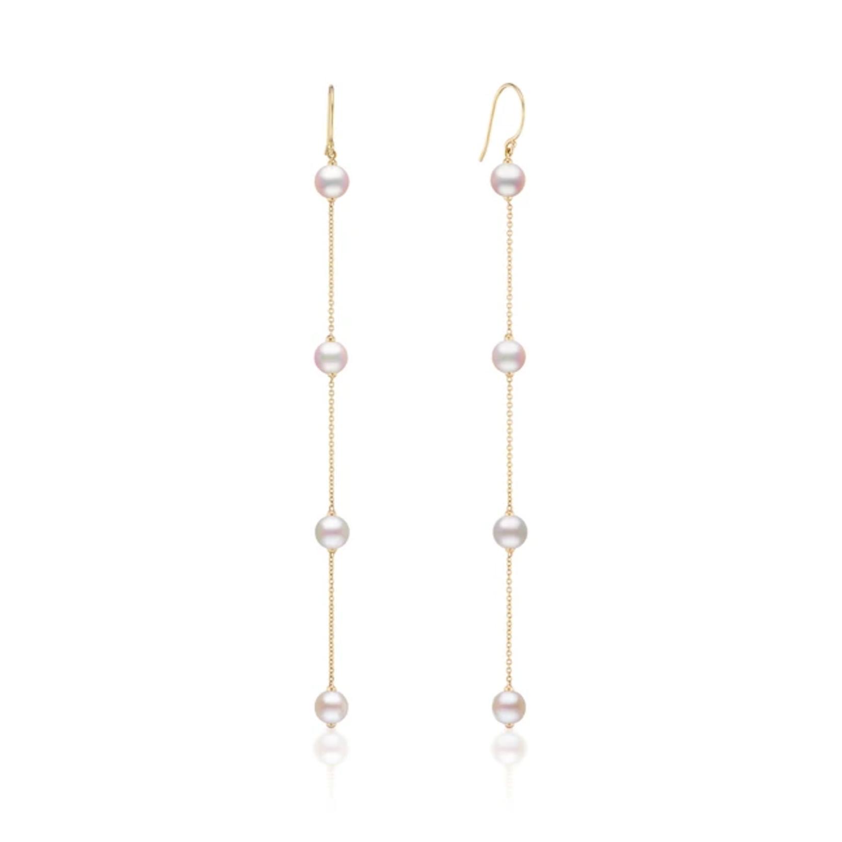KBH Jewels Akoya Pearl Drop Earrings