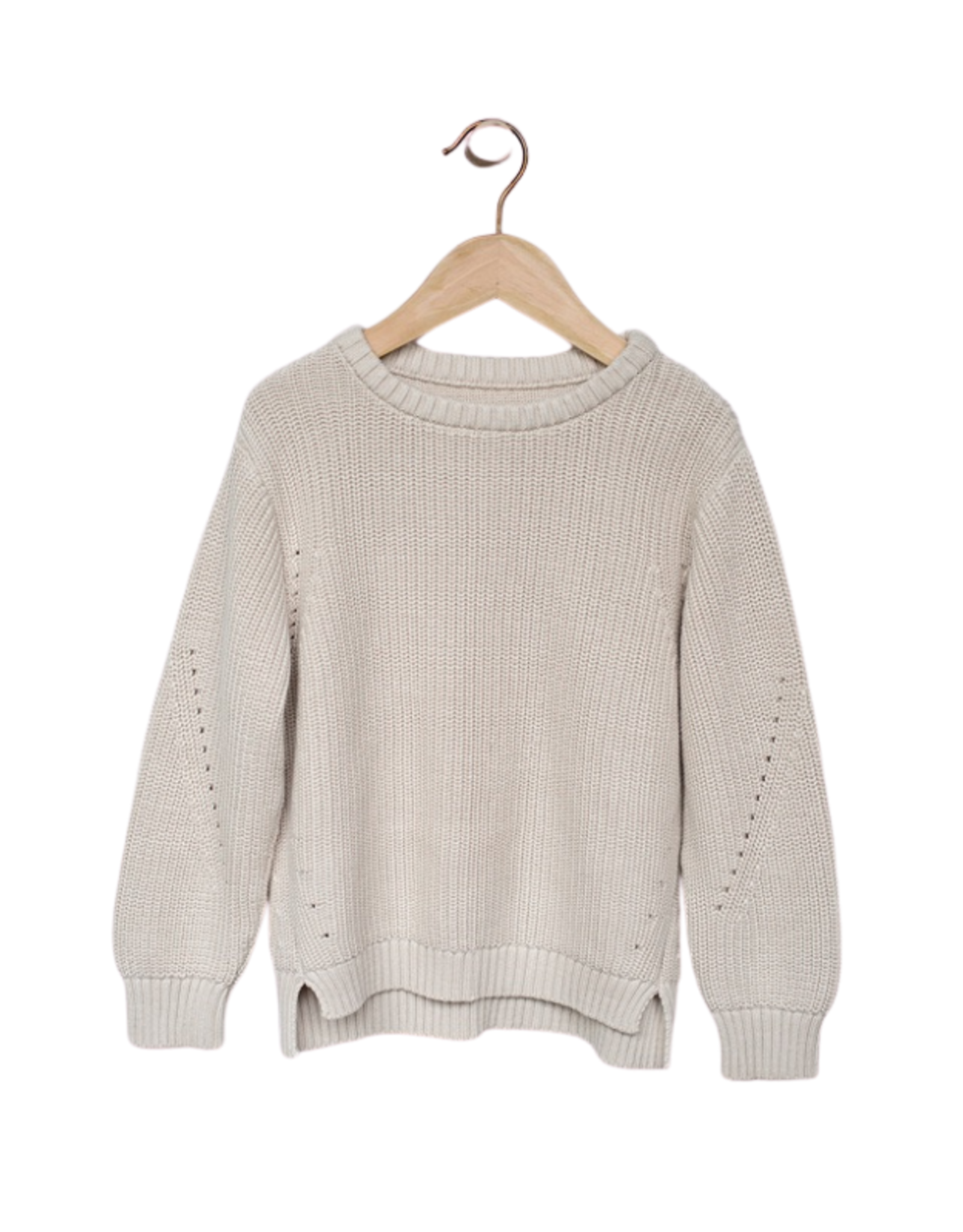 The Simple Folk The Essential Sweater - Oatmeal