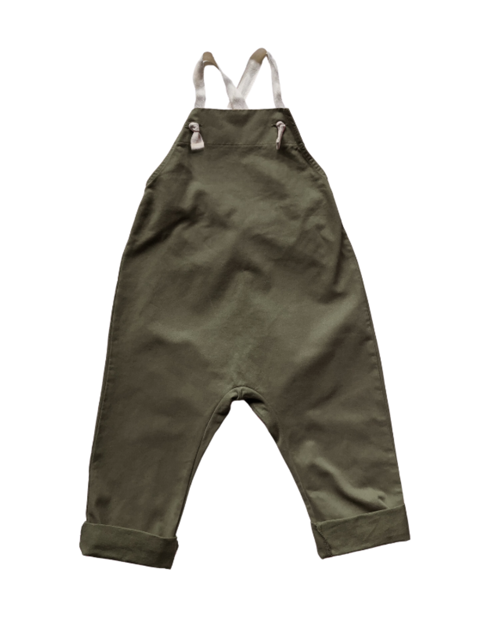 The Simple Folk The Workman Overall - Olive
