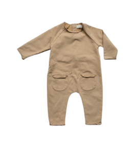 The Simple Folk The Cozy Playsuit - Camel