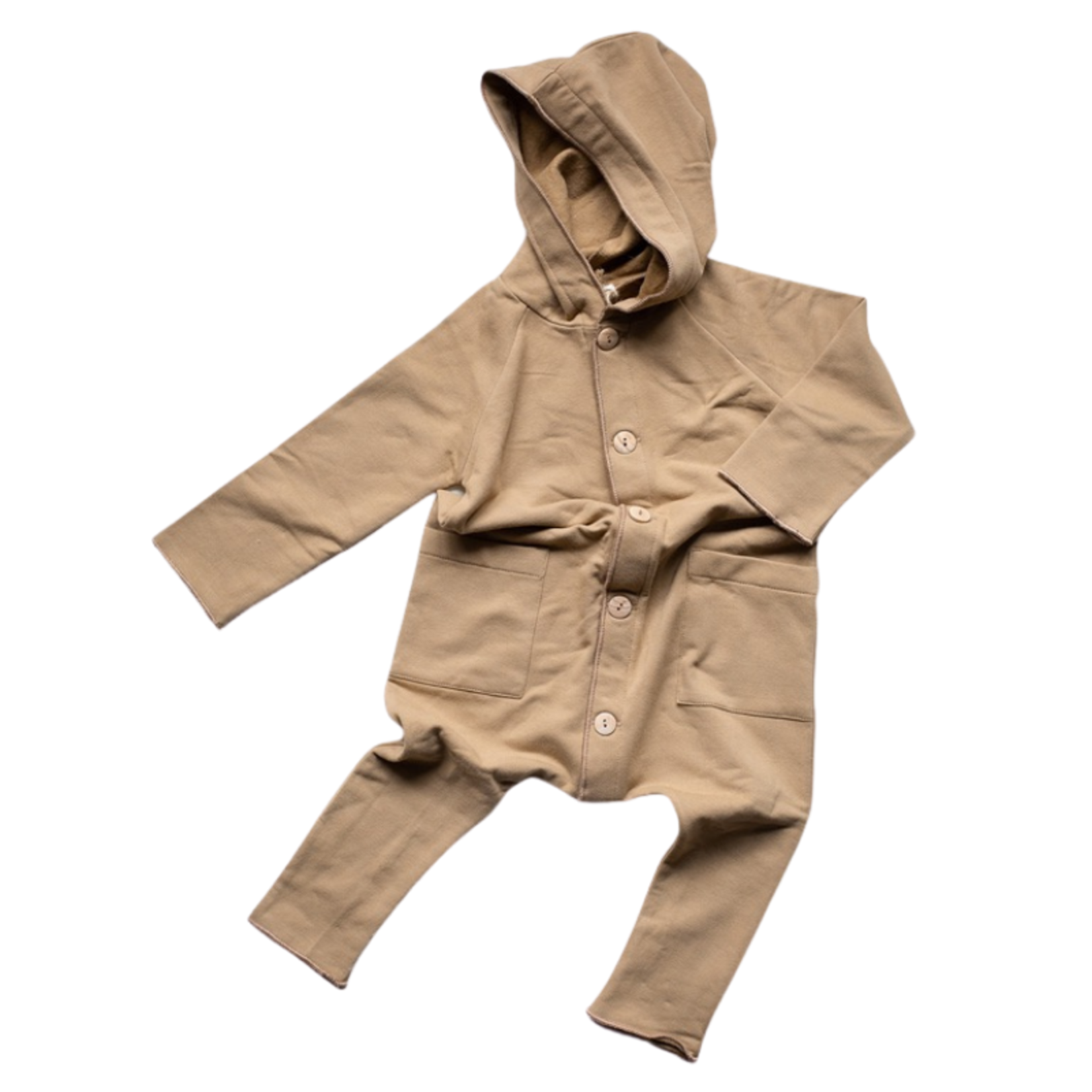 The Simple Folk The Forager Playsuit - Camel