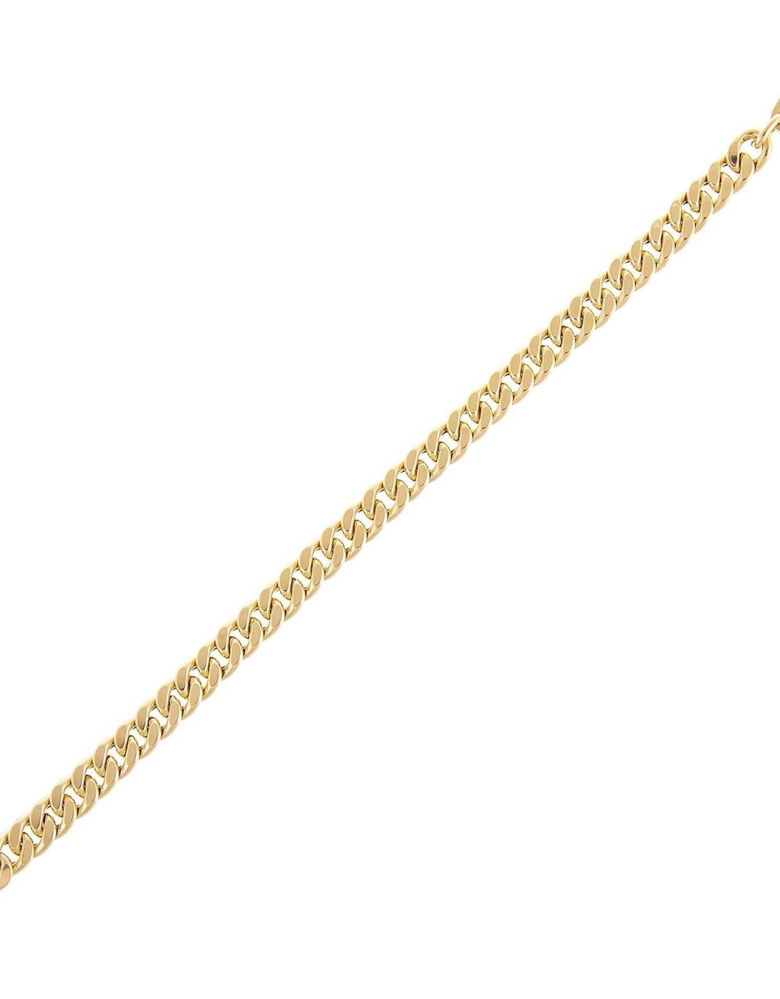 Adinas Miami Cuban Link Bracelet 14k