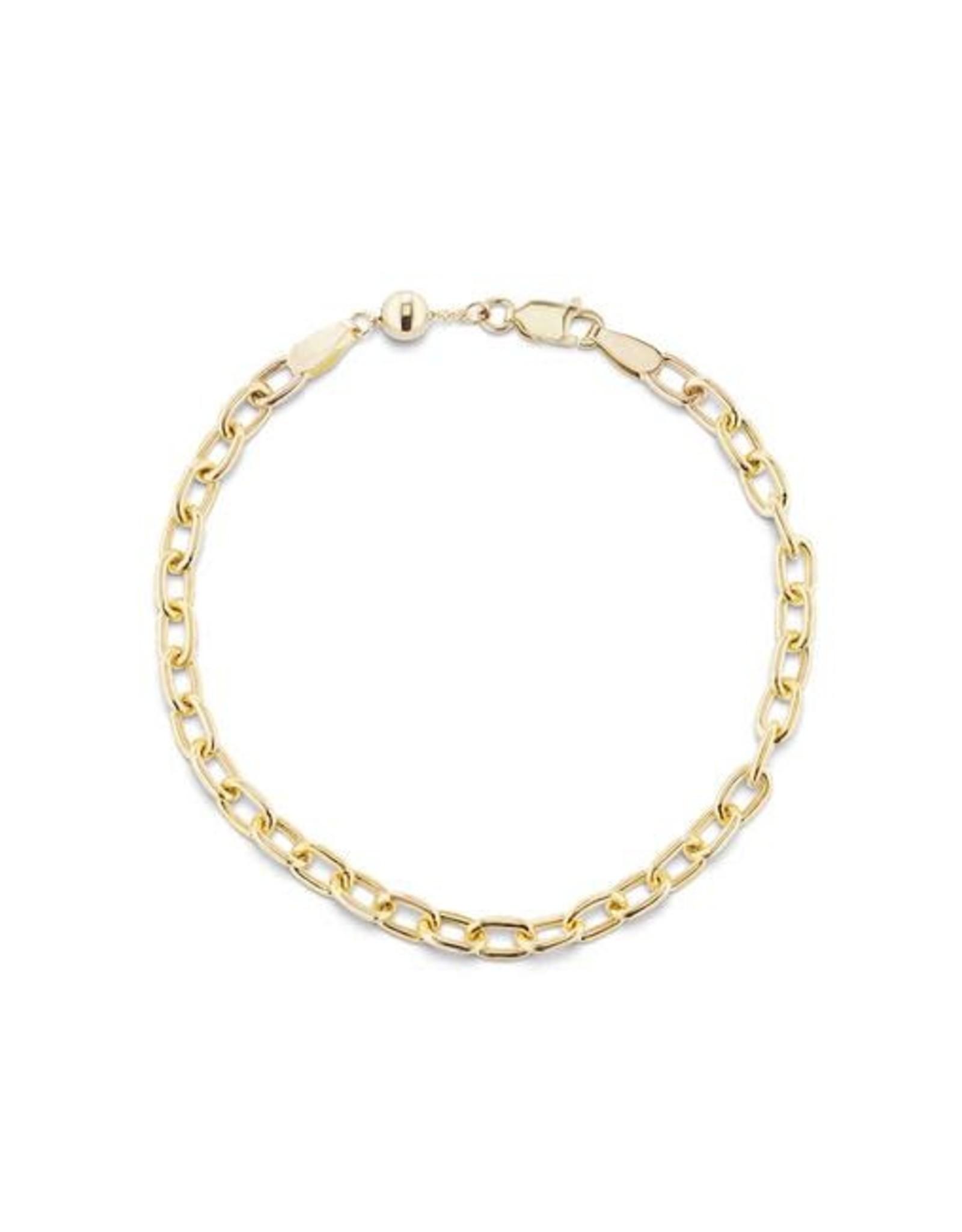 KBH Jewels Elongated Link Bracelet