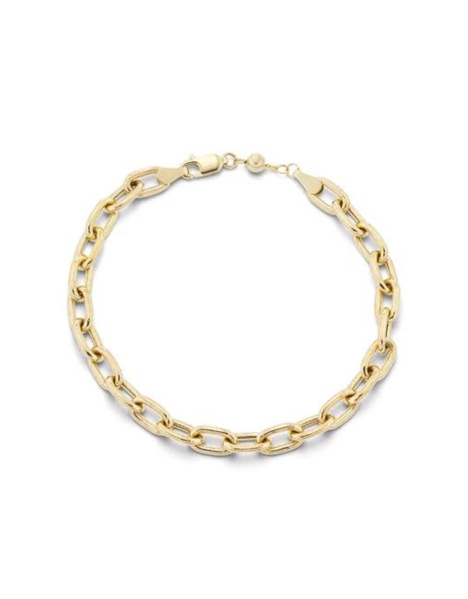 KBH Jewels Thick Elongated Link Bracelet