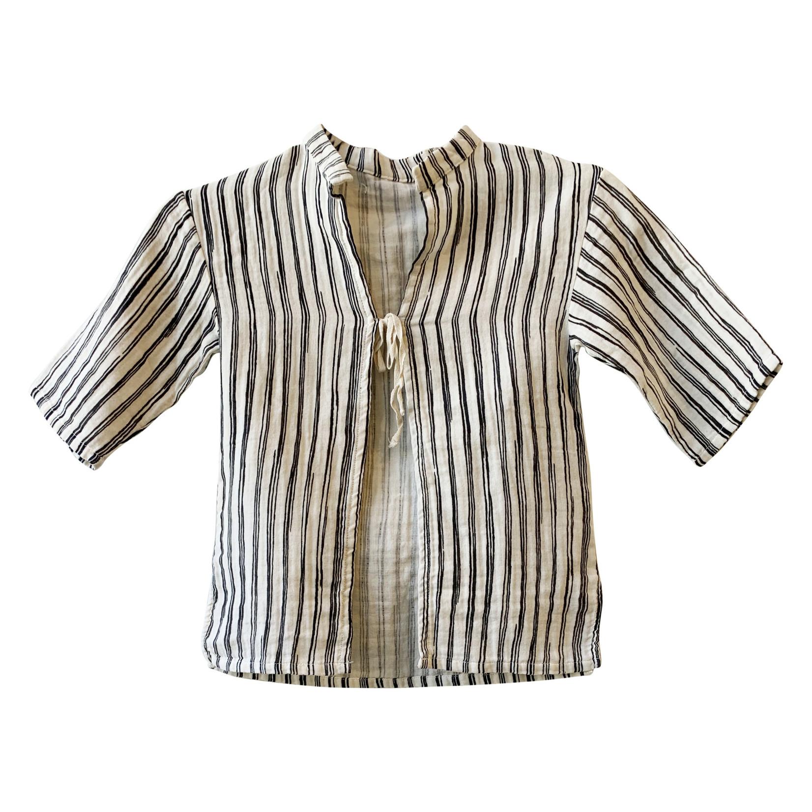 Little Creative Factory Bamboo Striped Long Sleeve Shirt