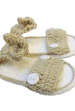 Wyld Blue Kids Baby Knit Sandals Sand