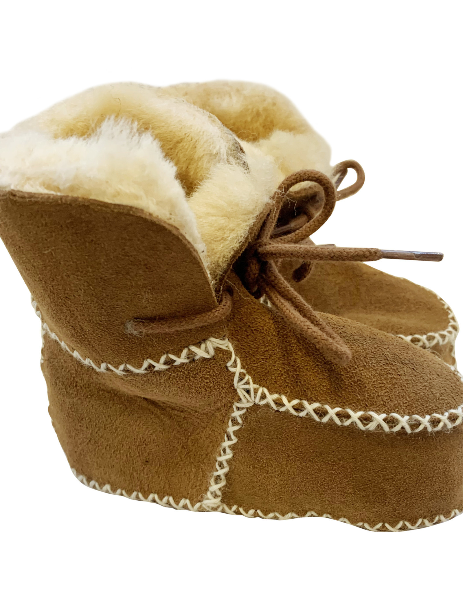 The Simple Folk The Sheepskin Bootie - Tan