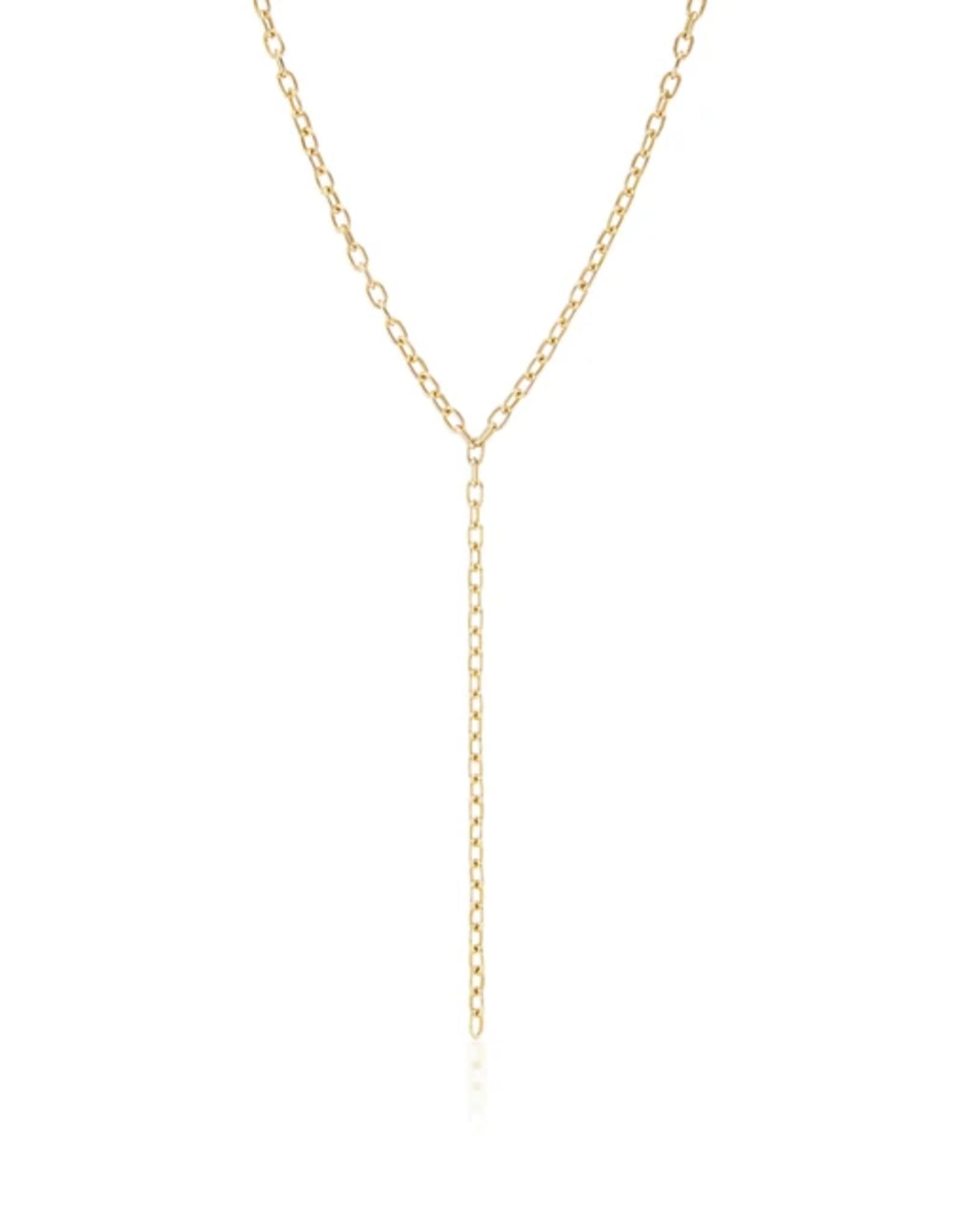 KBH Jewels Elongated Chain Link Lariat