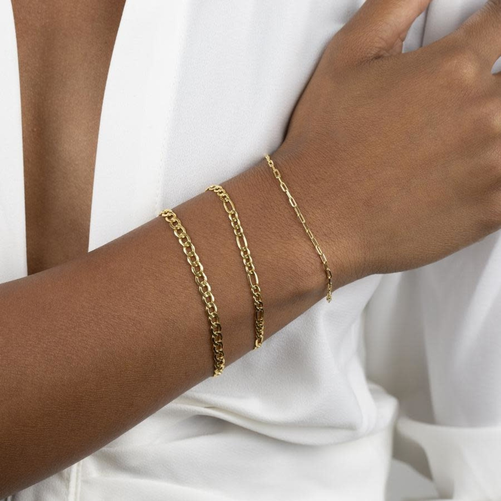 Adinas Figaro Bracelet 14K