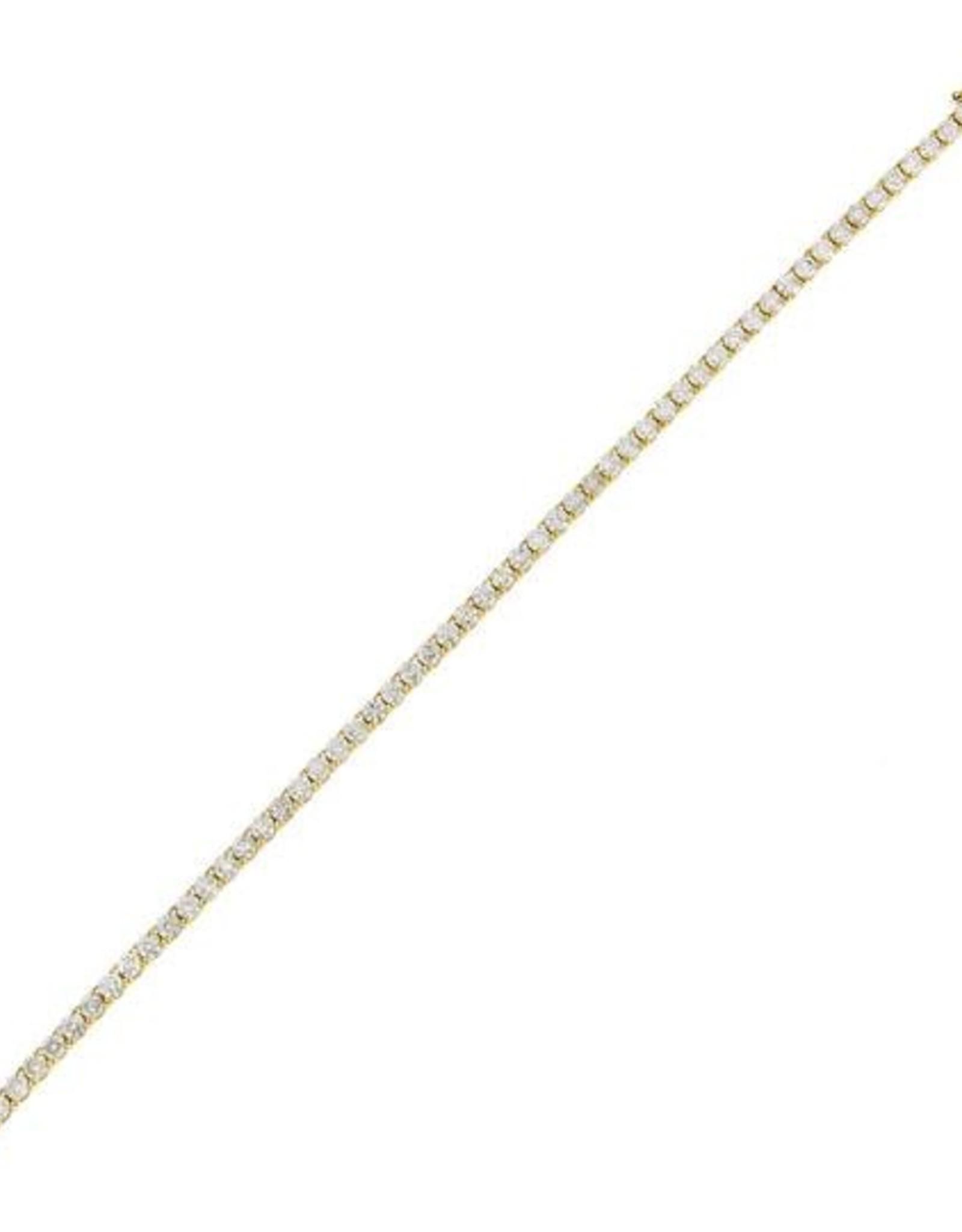 Adinas Diamond Tennis Bracelet 14K