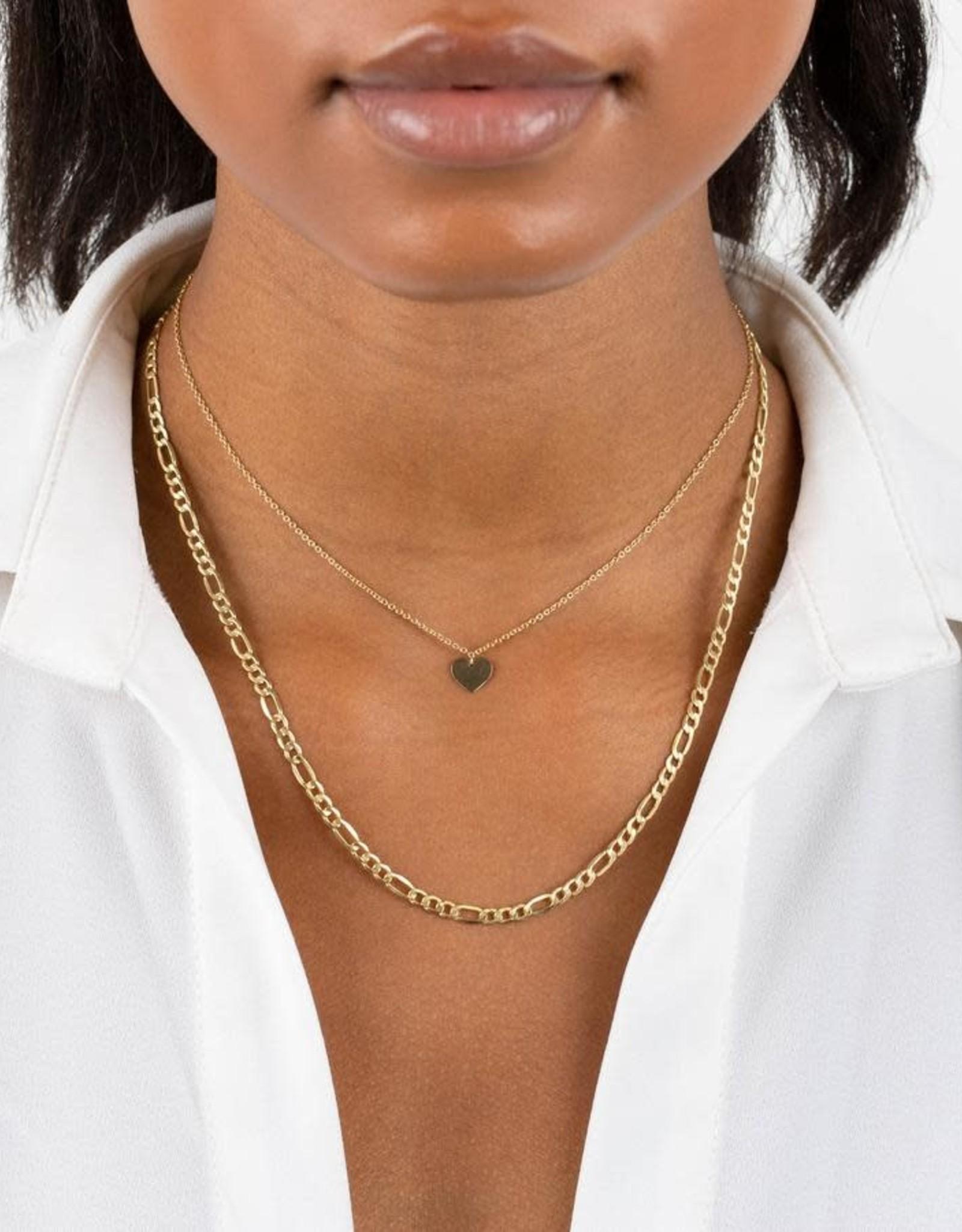 Adinas Figaro Necklace 14in 14K