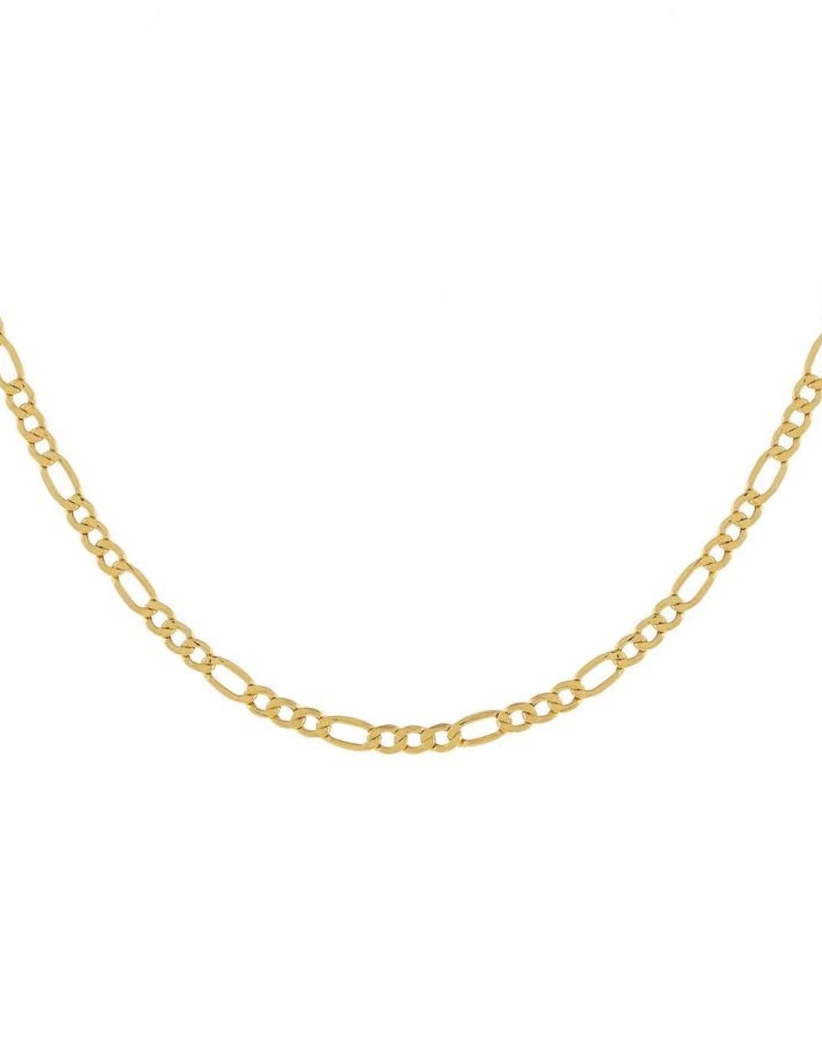 Adinas Figaro Necklace 16in 14K