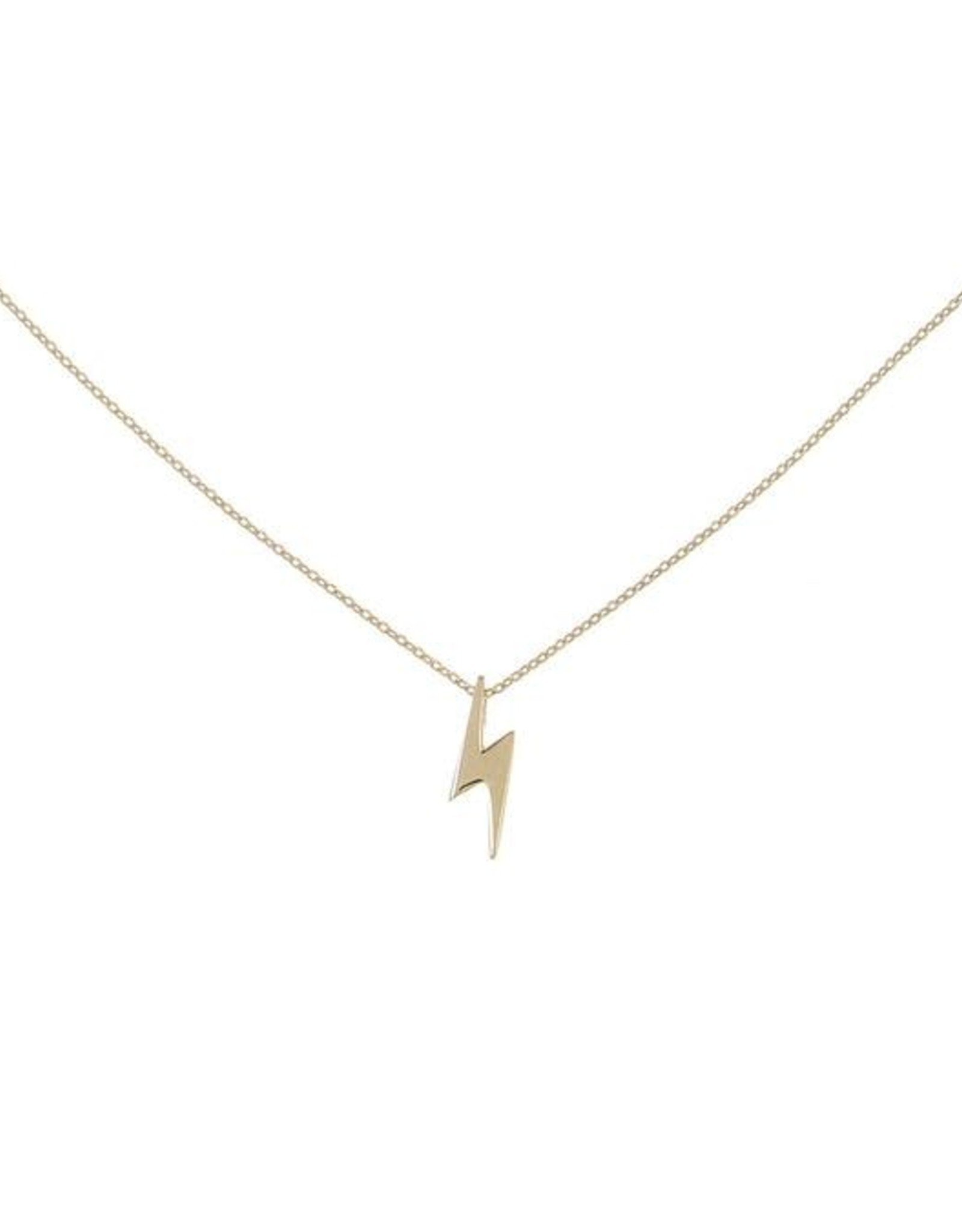 Adinas Lightning Necklace 14K