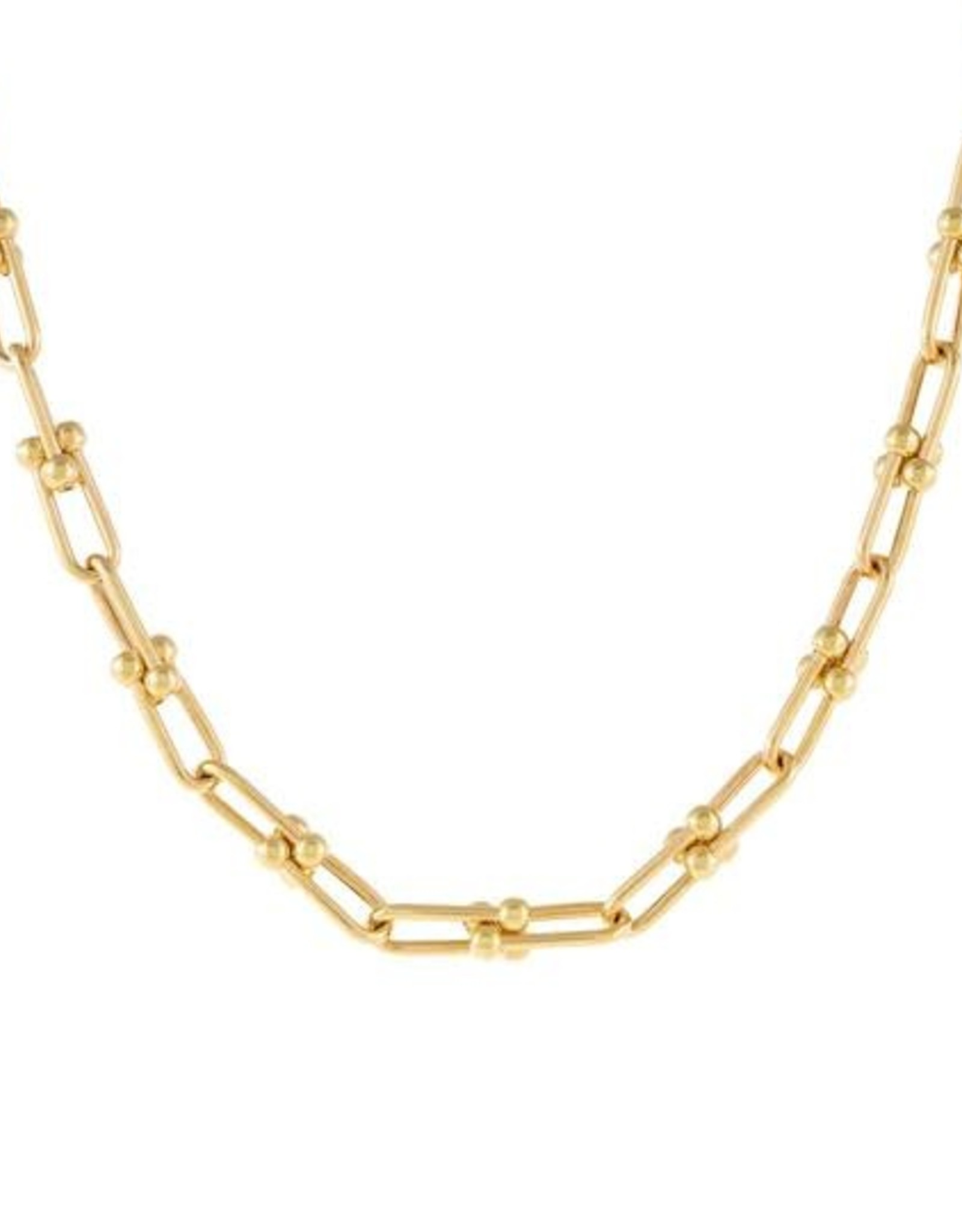 Adinas U Chain Necklace 14K