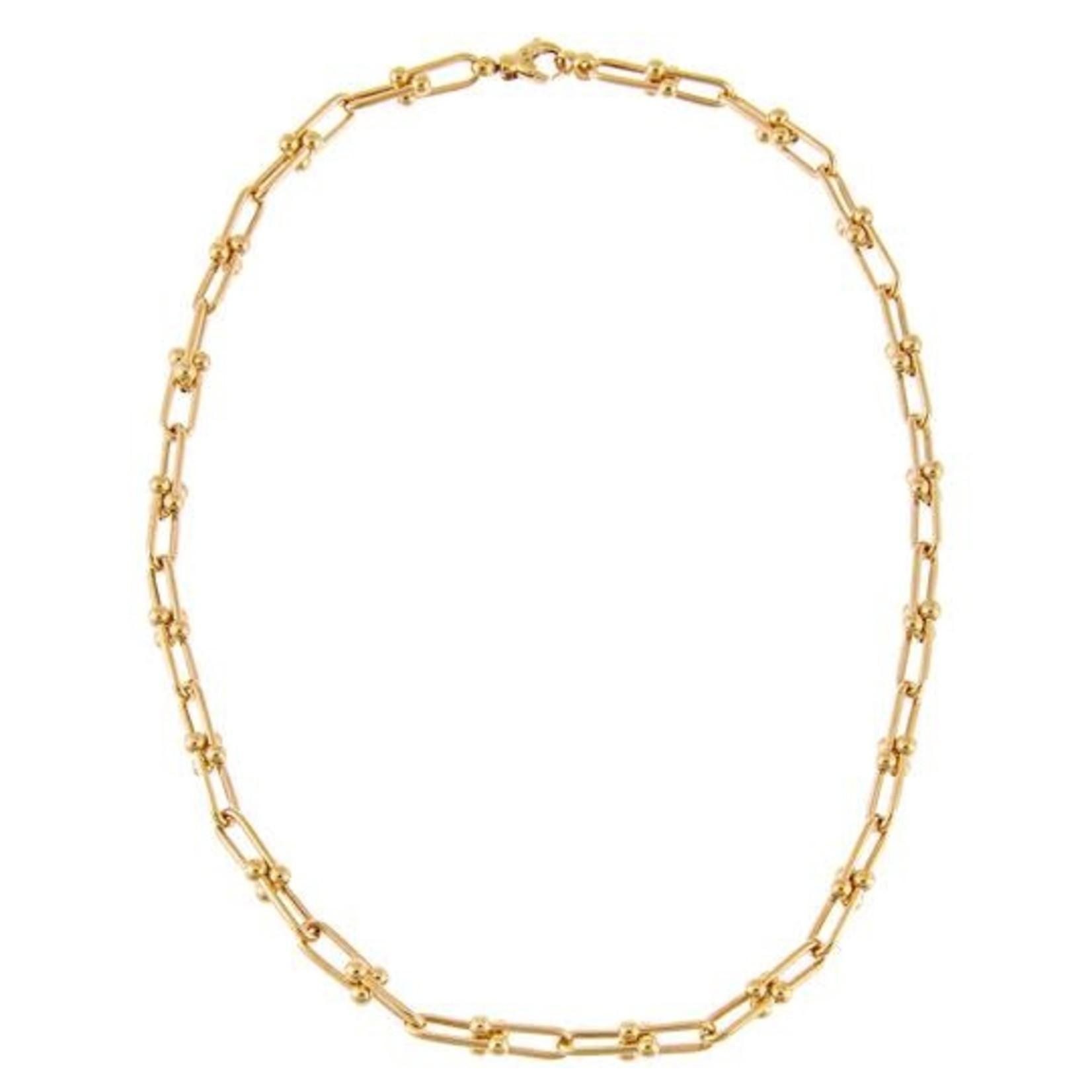 Adinas U Chain Necklace 14K
