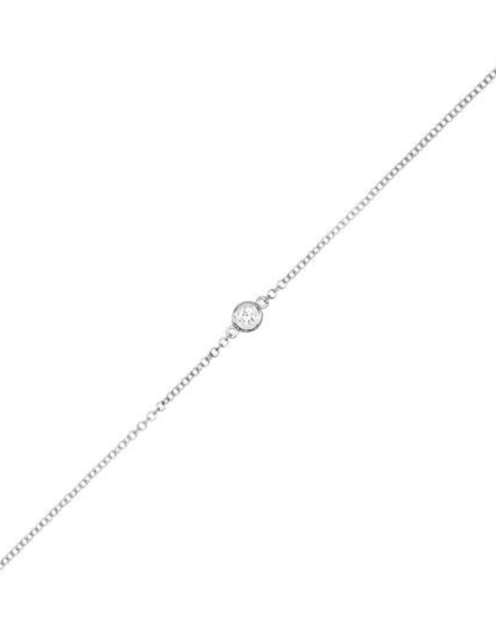 Adinas Diamond Bezel Bracelet 14K