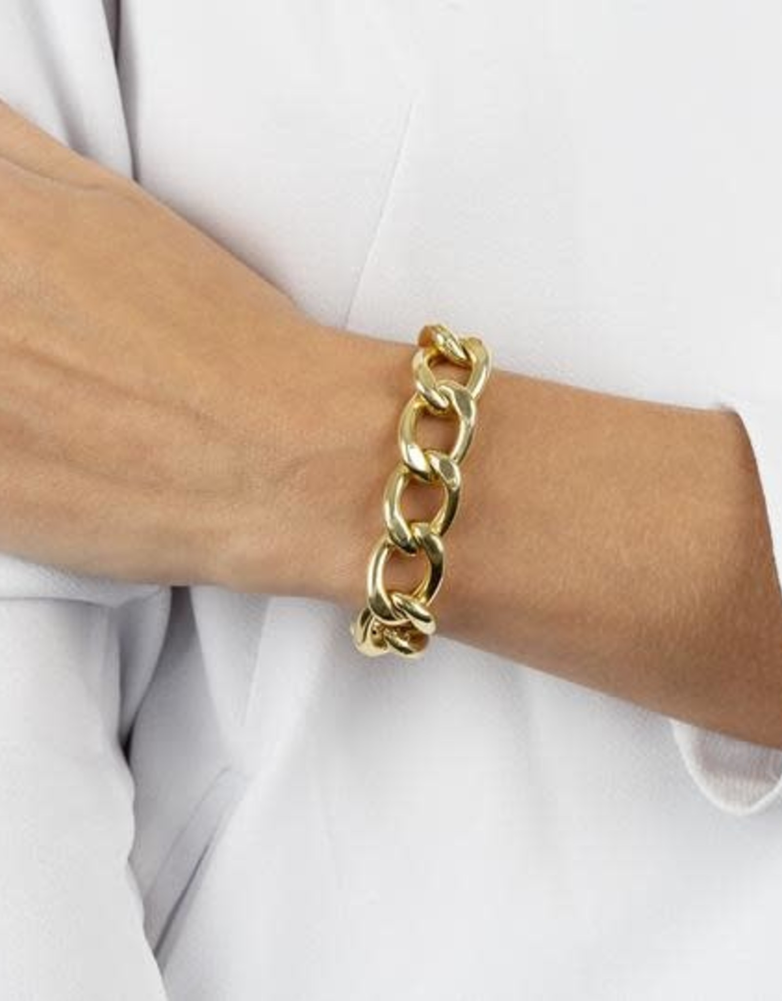 Adinas XL Miami Curb Link Bracelet