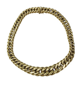 Wyld Blue 18K Gold Chain Necklace