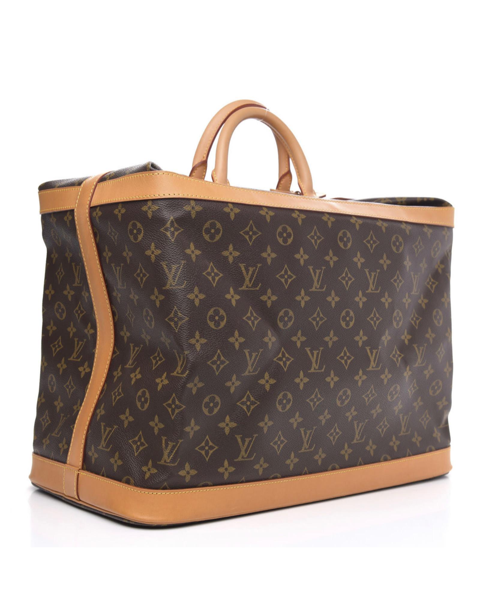 Wyld Blue Vintage Louis Vuitton Luggage Bag