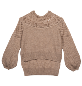 Mes Demoiselles Picchu Knitted Sweater