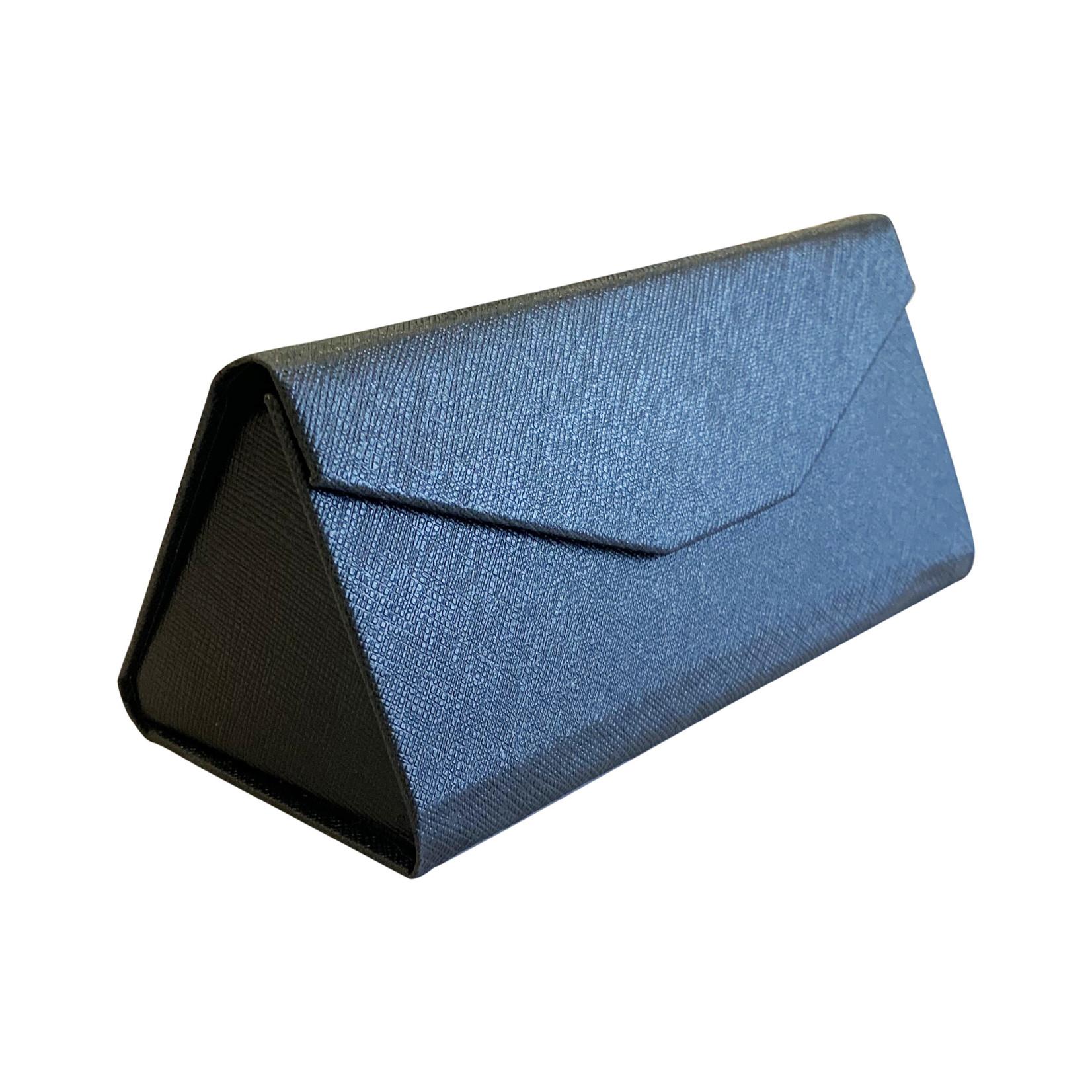 Wyld Blue Black Triangle Sunglass Case