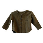 Army Crepe Sweater