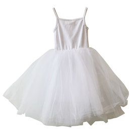 Wyld Blue Kids White Tutu Dress